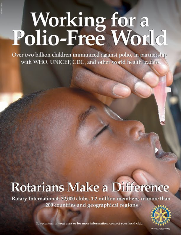 Working for a Free-Polio Word