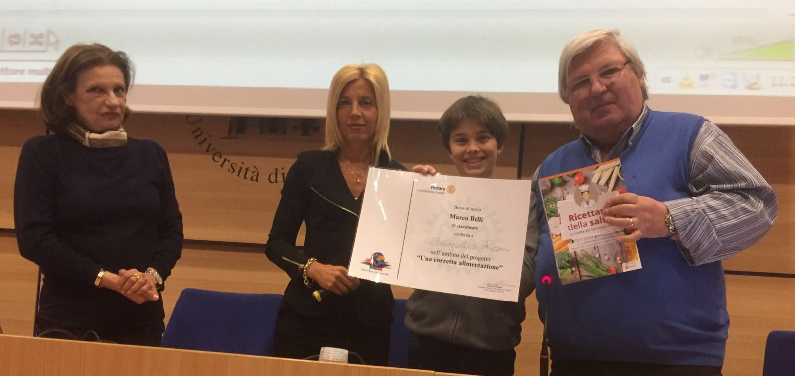 2016 05 16 Borsa di studio Marco Belli Secondo classificato